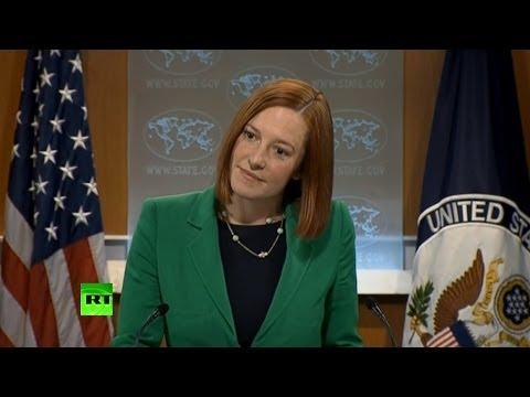 Госдеп США не смог объяснить обвинения в адрес России о стрельбе в Симферополе