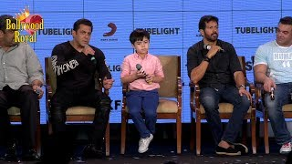 Salman Khan & Child Co Star Matin Have A Fun Filled Evening Of 'Tubelight' Part 4