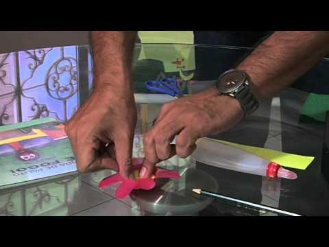 Mão na Massa com Tio Ed - Flor de Copo Descartável