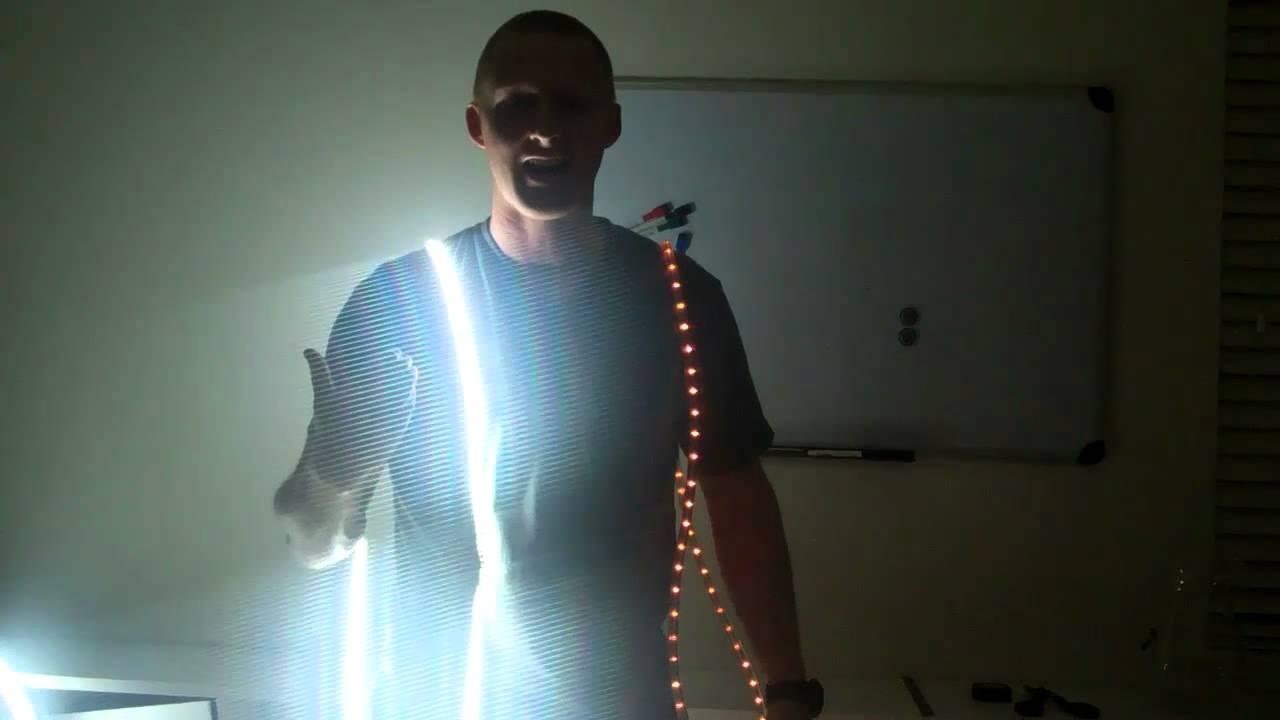 Strip Lights Vs Rope Lights : LED rope lighting vs LED strip light review - YouTube