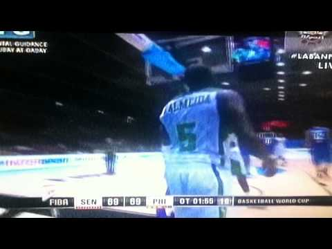 ANDRAY BLATCHE Fouled out!!! vs SENEGAL