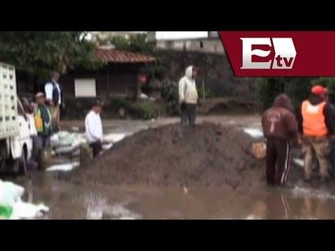 Emite Puebla alerta roja por posible desbordamientos de ríos/ Titulares