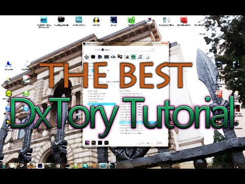 DxTory Complete Tutorial - the best German Video Tutorial [FullHD]