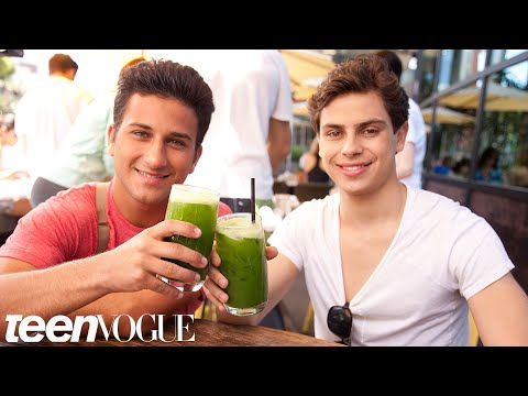 Fosters Jake T Austin And Ramin Abrams Play Best Friend