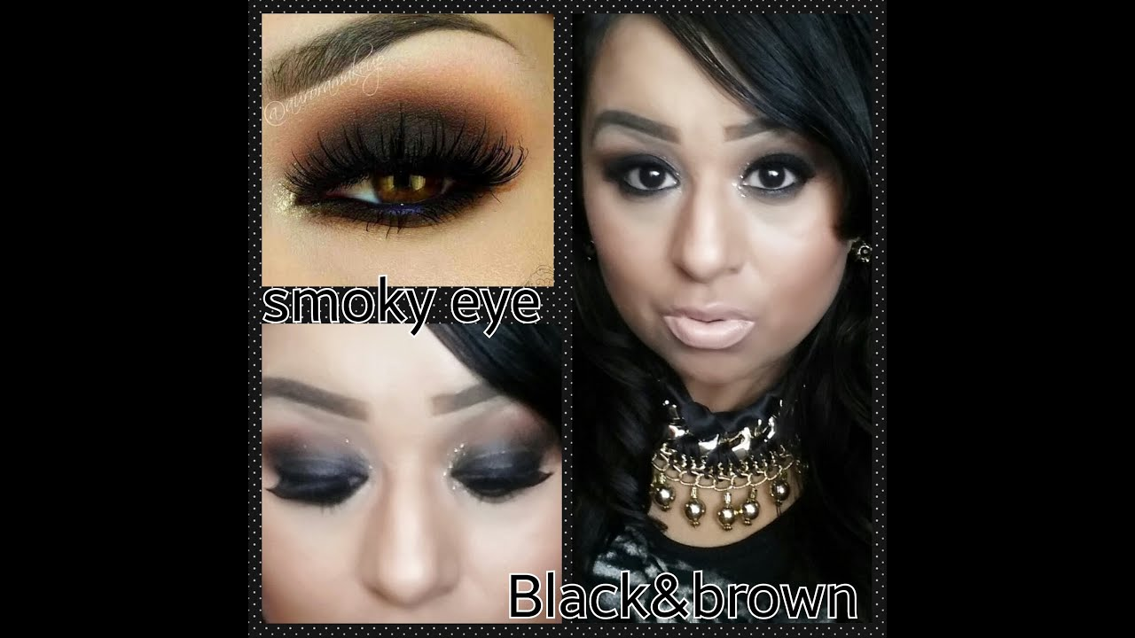 smoky eye con tonos naranja marron y negro peticion x paty carranza youtube. Black Bedroom Furniture Sets. Home Design Ideas