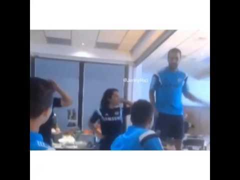 La novatada de Cesc Fàbregas en el Chelsea