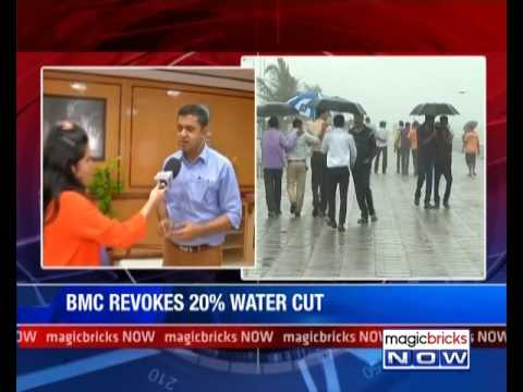 BMC withdraws 20% water cuts from residential in Mumbai- Property News