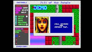 MiSTer (FPGA) ao486: Jill of the Jungle (DOS)