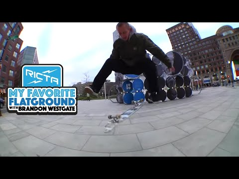 Brandon Westgate's Favorite Flatground Trick | Varial Heelflip