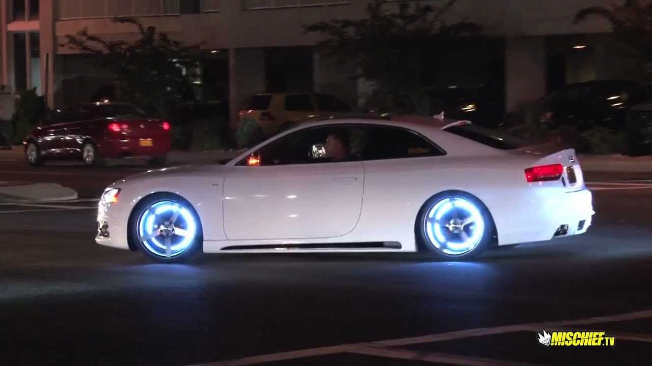 Quckie H20i 2012 Audi S5 With Glowing Rims Youtube