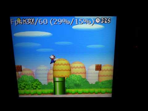 NDS Emulator NDS4Droid New Super Mario Bros on Kindle Fire HD 8.9