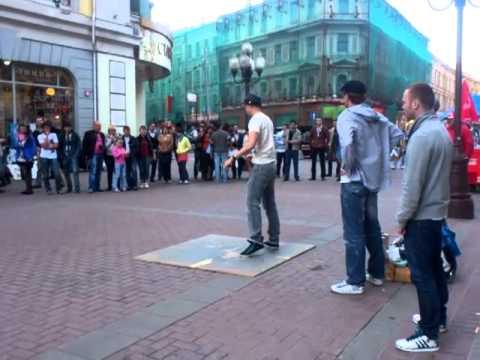 Арбат.Уличные танцы