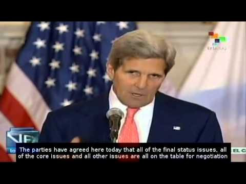 John Kerry aims for Israel-Palestine peace agreement in 9 months
