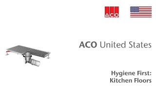 ACO Building Drainage: How to get more from your kitchen floor...
