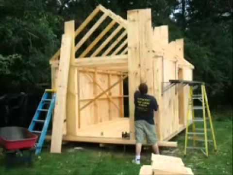How to build 8 x 10 shed youtube for Build a home online free