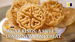 Sugar rings: Hong Kong pastry chef's grandmother inspiration for Lunar New Year treat