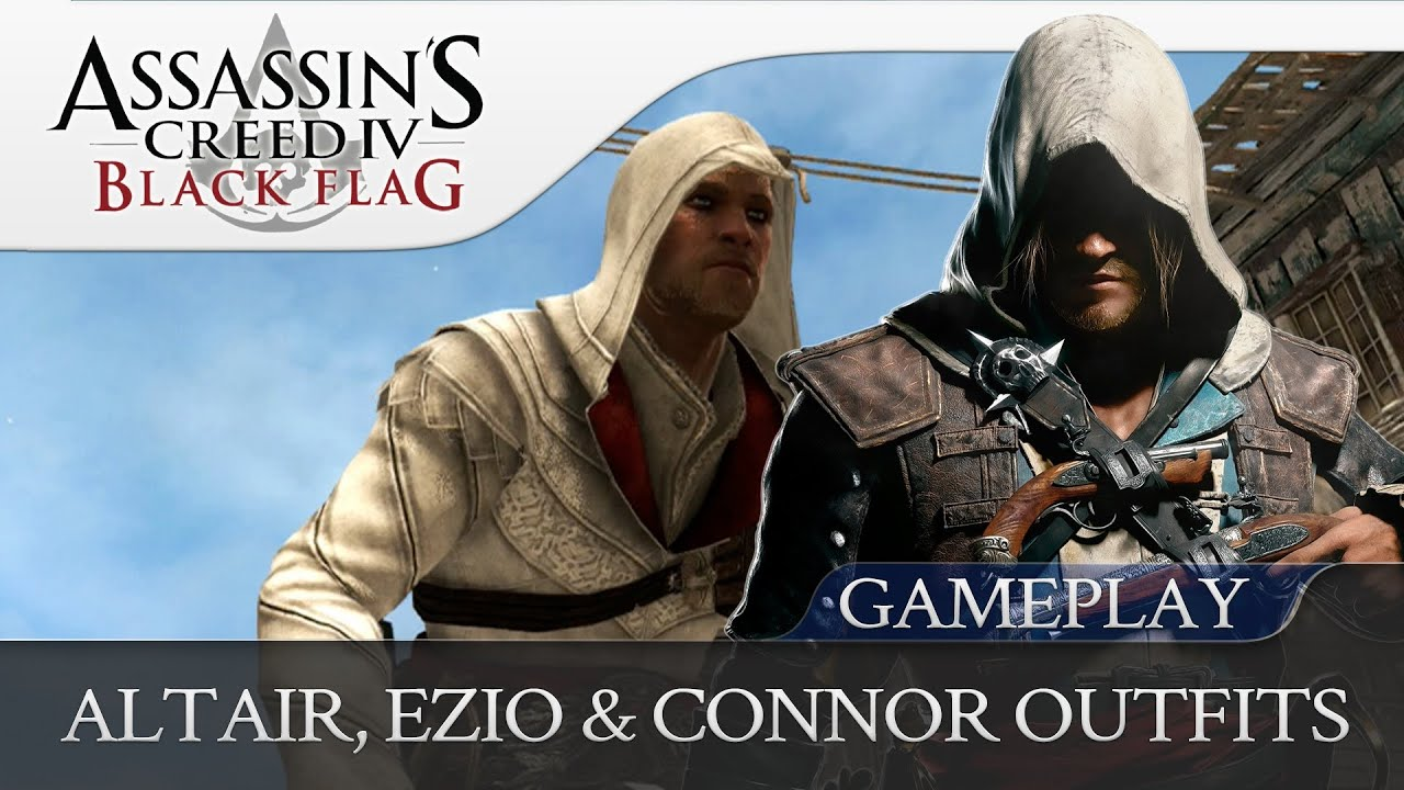 Connor Kenway Outfits Outfits For Edward Kenway