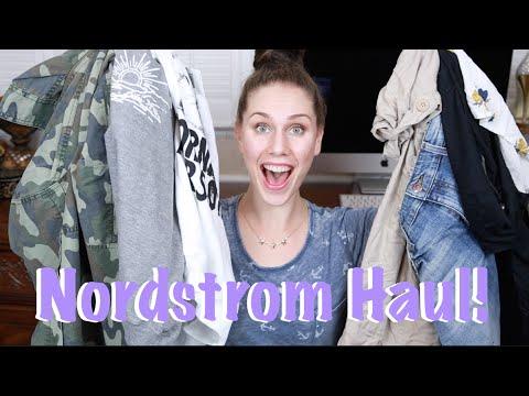 Huge Nordstrom Clothing Haul! | Cassandra Bankson