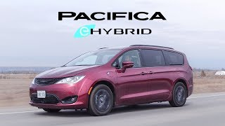 2019 Chrysler Pacifica Plug-In Hybrid Review - The Electric Minivan