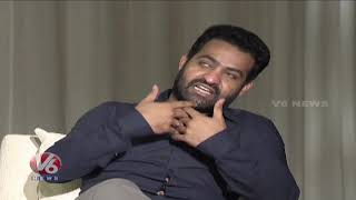 Special Chit Chat With Jr. NTR And Trivikram After Aravinda Sametha Success  Film News