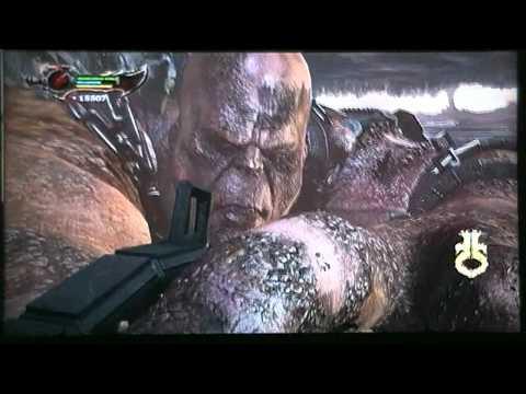 God of War 3-Kratos X Cronos