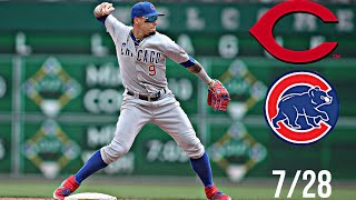 Cubs vs Reds Highlights | 7/28/20