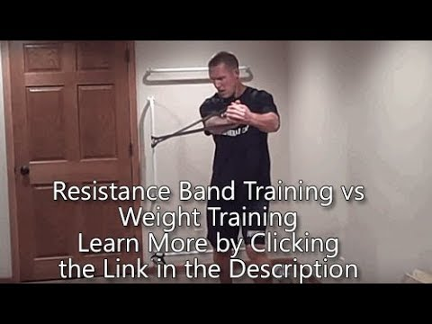 Resistance Band Training vs Weight training