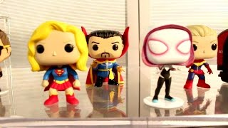2016 New York Toy Fair Funko Pop Vinyl Figures At The Funko Booth Funko Pop Collection Video