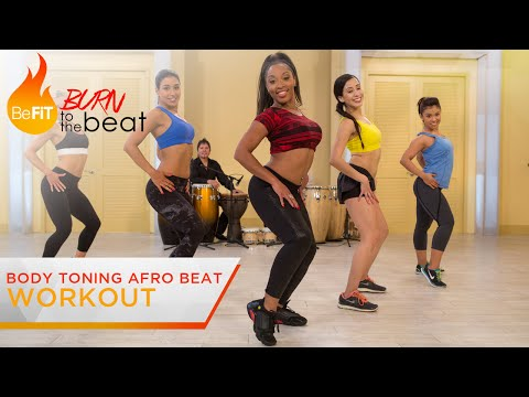 Body Toning Afro Beat Workout: Burn to the Beat- Keaira LaShae