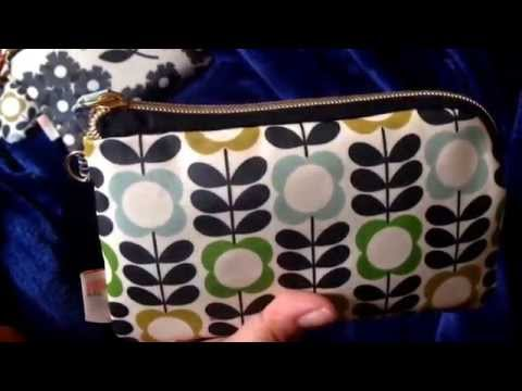 What's in my mommy bag/ how I use Orla Kiely in my bag