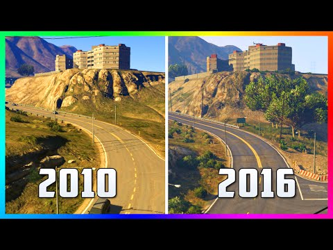 WHAT GTA 5 LOOKED LIKE IN 2010! - INSANE IMAGES OF PRE RELEASED GTA 5 & HOW IT'S CHANGED IN 2016!