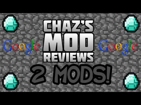 Chaz's Minecraft Mod Reviews - Navigator+ & Let Me Google That For You Mod! 2 Mods!