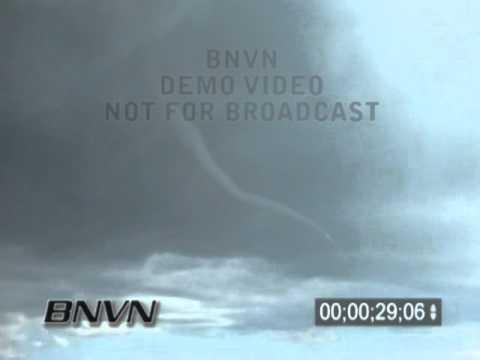 6/7/2005 Jackson County SD Tornado Video