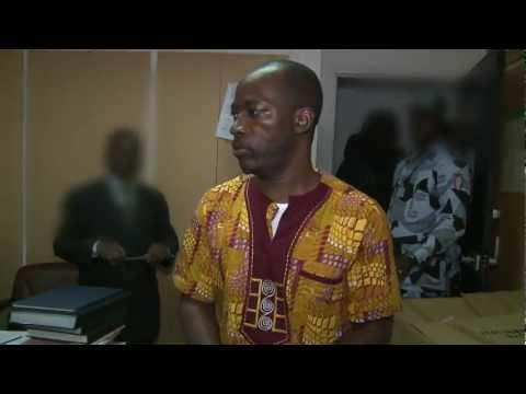 Charles Blé Goudé comparait devant le juge de 1ère instance d`Abidjan