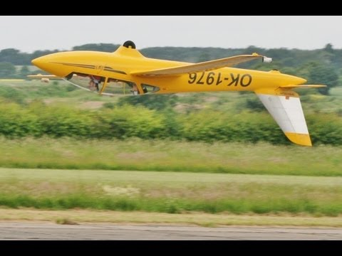50 % SCALE FOX JET GLIDER - ALI MACHINCHY- WINGS AND WHEELS RC MODEL AIRCRAFT SHOW - 2013