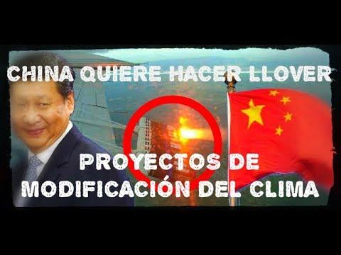 China y el MEGAPROYECTO para Hacer Llover