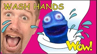Kids Wash Hands NEW | Stories from Steve and Maggie with Bobby | NEW on Wow English TV