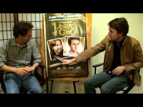 Edward Norton and Tim Blake Nelson NYC Interview for Leaves of Grass