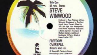 Watch Steve Winwood Freedom Overspill video