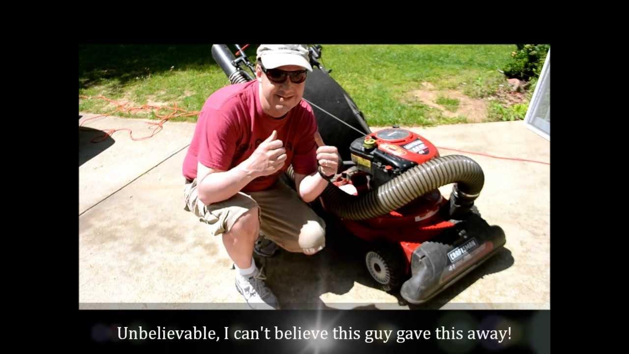 Craftsman Lawn Vacuum Autos Post