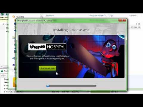 Como descargar el Stronghold crusader 1 link en español ! HD