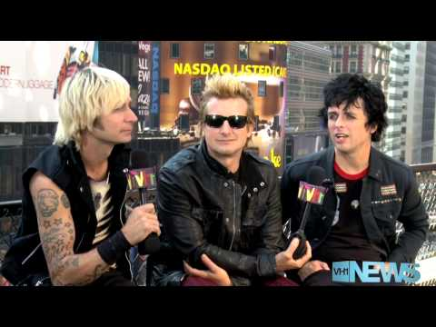 Green Day VH1 News Interview 2012