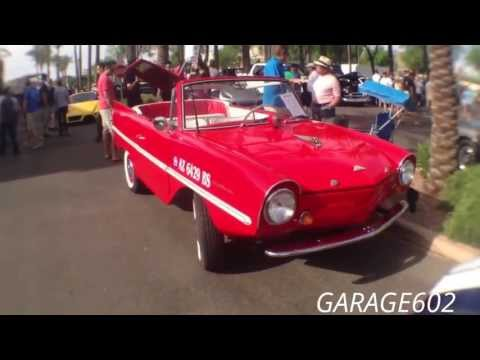1963 Amphicar, 4cylinder 43HP, Triumph Engine, at Cars and Coffee Scottsdale