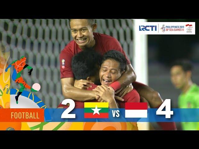 MYANMAR 2 - 4 INDONESIA | SEMIFINAL | FOOTBALL SEAGAMES 2019 thumbnail