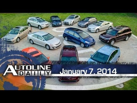 Toyota Slowly Losing Hybrid Market Share - Autoline Daily 1286