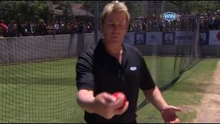 Masterclass Leg Spin Bowling With Shane Warne