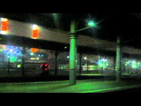 Электровоз эп20 с поездом №099ч москва