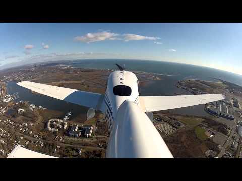 Cirrus SR22 Emergency landing after takeoff