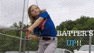 Epic Baseball Fun!!  Tyler and Paityn also find some interesting baby animals!