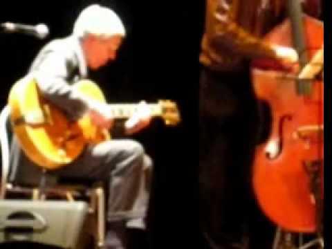 Un estratto dal concerto di Franco Cerri Cadelbosco 27.02.2010